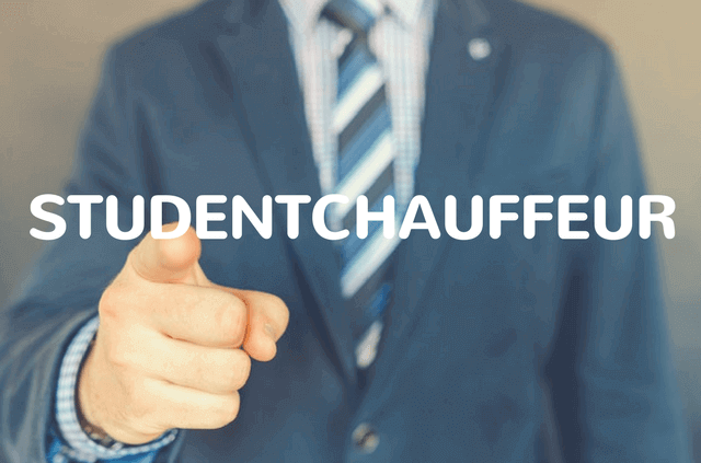 Studentchauffeur van privechauffeur.nl